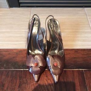Kate Spade vintage sling back heels size 8